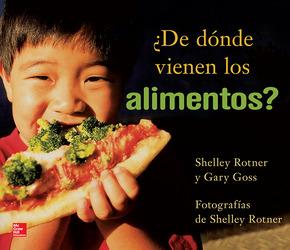 Lectura Maravillas Literature Big Book: Where Does Food Come From? Grade 1