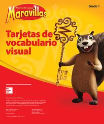 Lectura Maravillas, Grade 1, Visual Vocabulary Cards