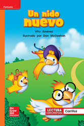 Lectura Maravillas Leveled Reader Un nido nuevo: Approaching Unit 2 Week 2 Grade 1