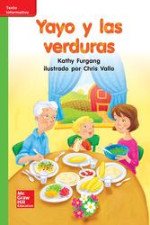 Lectura Maravillas Leveled Reader Yayo y las verduras: Beyond Unit 5 Week 3 Grade K