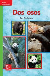 Lectura Maravillas Leveled Reader Dos osos: Beyond Unit 7 Week 1 Grade K