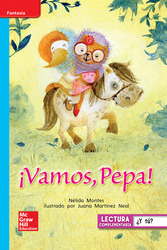 Lectura Maravillas Leveled Reader ¡Vamos, Pepa!: On-Level Unit 1 Week 2 Grade 1