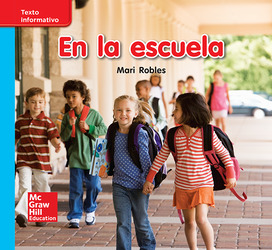 Lectura Maravillas Leveled Reader En la escuela: On-Level Unit 1 Week 3 Grade K