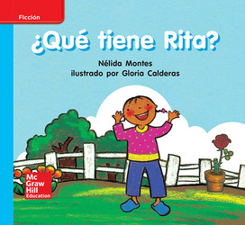 Lectura Maravillas Leveled Reader ¿Qué tiene Rita?: On-Level Unit 5 Week 1 Grade K