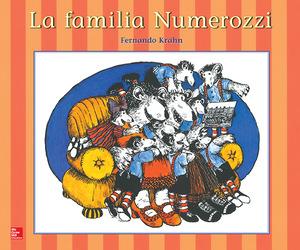 Lectura Maravillas Literature Big Book: La familia Numerozzi Grade K