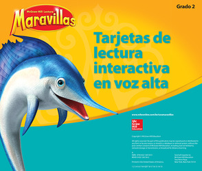 Lectura Maravillas, Grade 2, Interactive Read Aloud Cards