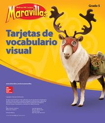 Lectura Maravillas, Grade 5, Visual Vocabulary Cards