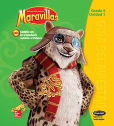 Lectura Maravillas, Grade 4, Teachers Edition Volume 1