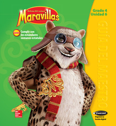 Lectura Maravillas, Grade 4, Teachers Edition Volume 6