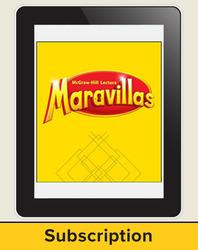 Lectura Maravillas, Grade K, Student Workspace, 6 Year Subscription