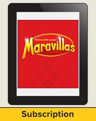 Lectura Maravillas, Grade 1, Online Digital Program, 6 Year Subscription