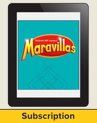 Lectura Maravillas, Grade 2, Online Digital Program 6 Year Subscription