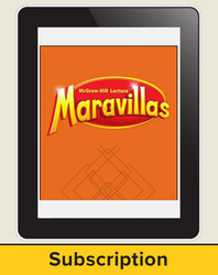 Lectura Maravillas, Reading Wonders Online Digital Program, 6 Year Subscription, Grade 3