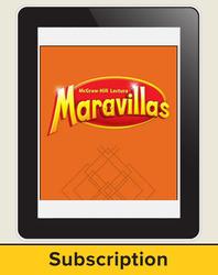 Lectura Maravillas, Reading Wonders Online Digital Program, 6 Year Subscription, Grade 3
