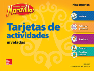 Lectura Maravillas, Grade K, Workstation Activity Cards