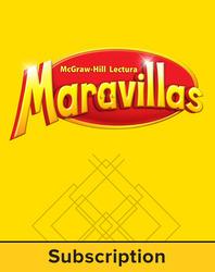 Lectura Maravillas, Grade K, Kindergarten System, 6 Year Subscription