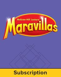Lectura Maravillas, Grade 5, Comprehensive Program, 6 Year Subscription