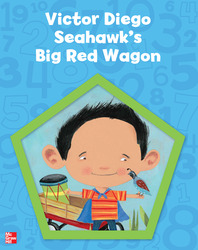 Building Blocks Pre-K, Victor Diego Seahawk's Big Red Wagon Big Book