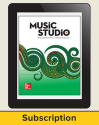 Spotlight on Music, Grade 4 Online Student Course Ten  Seat Add-On, 6 Year Subscription