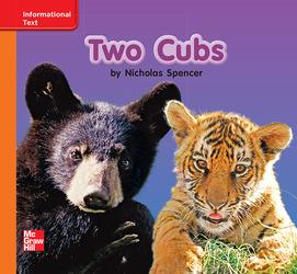Reading Wonders, Grade K, Leveled Reader Two Cubs, Approaching, Unit 7, 6-Pack