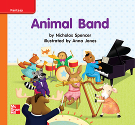 Reading Wonders, Grade K, Leveled Reader Animal Band, Approaching, Unit 10, 6-Pack