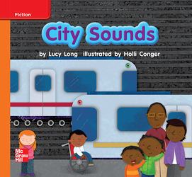 Reading Wonders, Grade K, Leveled Reader City Sounds, Approaching, Unit 3, 6-Pack