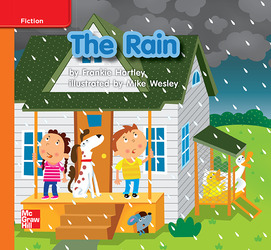 Reading Wonders, Grade K, Leveled Reader The Rain, Approaching, Unit 6, 6-Pack
