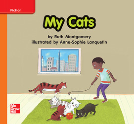 Reading Wonders, Grade K, Leveled Reader My Cats, Approaching, Unit 7, 6-Pack