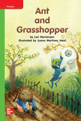 Reading Wonders, Grade K, Leveled Reader Ant and Grasshopper, Beyond, Unit 6, 6-Pack