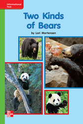Reading Wonders, Grade K, Leveled Reader Two Kinds of Bears, Beyond, Unit 7, 6-Pack