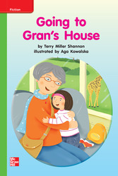 Reading Wonders, Grade K, Leveled Reader Going to Gran's House, Beyond, Unit 8, 6-Pack