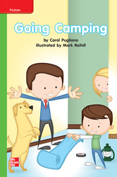 Reading Wonders, Grade K, Leveled Reader Going Camping, Beyond, Unit 10, 6-Pack