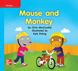 Reading Wonders, Grade K, Leveled Reader Mouse and Monkey, ELL, Unit 1, 6-Pack