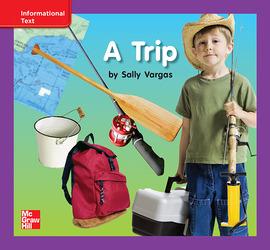 Reading Wonders, Grade K, Leveled Reader A Trip, ELL, Unit 2, 6-Pack