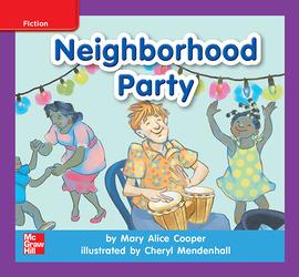 Reading Wonders, Grade K, Leveled Reader Neighborhood Party, ELL, Unit 4, 6-Pack
