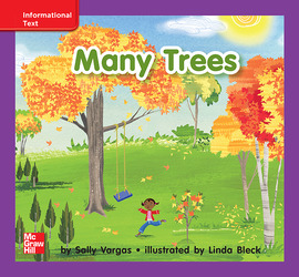 Reading Wonders, Grade K, Leveled Reader Many Trees, ELL, Unit 5, 6-Pack