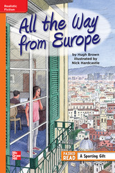 Reading Wonders, Grade 5, Leveled Reader All the Way from Europe, Approaching, Unit 3, 6-Pack