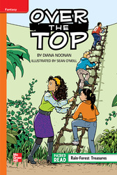 Reading Wonders, Grade 5, Leveled Reader Over the Top, Approaching, Unit 3, 6-Pack