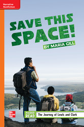 Reading Wonders, Grade 5, Leveled Reader Save This Space!, Approaching, Unit 1, 6-Pack