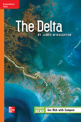 Reading Wonders, Grade 5, Leveled Reader The Delta, Approaching, Unit 4, 6-Pack