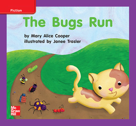 Reading Wonders, Grade K, Leveled Reader The Bugs Run, ELL, Unit 2, 6-Pack