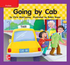 Reading Wonders, Grade K, Leveled Reader Going by Cab, ELL, Unit 3, 6-Pack