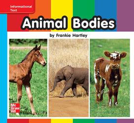 Reading Wonders, Grade K, Leveled Reader Animal Bodies, On Level, Unit 7, 6-Pack