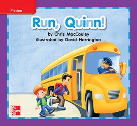Reading Wonders, Grade K, Leveled Reader Run, Quinn!, On Level, Unit 8, 6-Pack