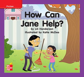 Reading Wonders, Grade K, Leveled Reader How Can Jane Help?, On Level, Unit 9, 6-Pack