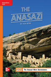 Reading Wonders, Grade 5, Leveled Reader The Anasazi, Approaching. Unit 3, 6-Pack