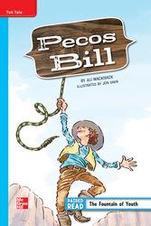 Reading Wonders, Grade 5, Leveled Reader Pecos Bill, ELL, Unit 4, 6-Pack