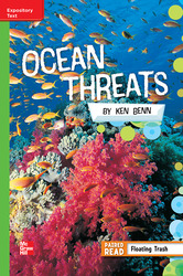 Reading Wonders, Grade 5, Leveled Reader Ocean Threats, ELL, Unit 5, 6-Pack