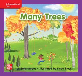 Reading Wonders, Grade K, Leveled Reader Many Trees, On Level, Unit 5, 6-Pack