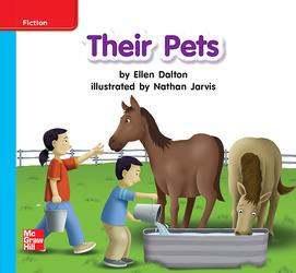 Reading Wonders, Grade K, Leveled Reader Their Pets, On Level, Unit 7, 6-Pack